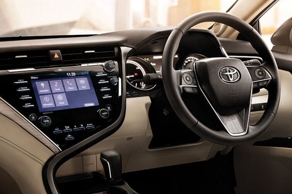 Toyota Camry New-Age Dashboard