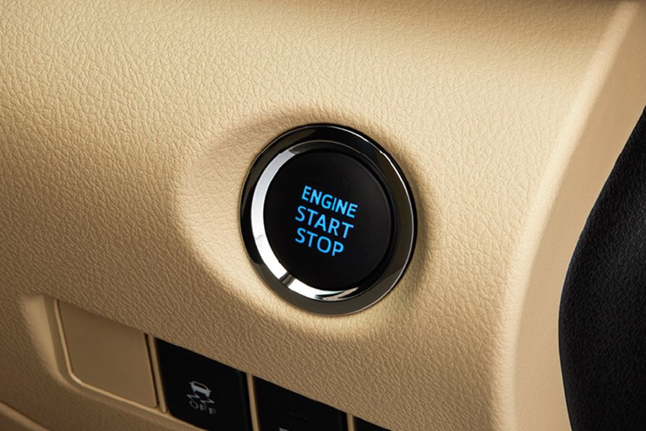 Toyota Yaris Engine Start/Stop Push Button