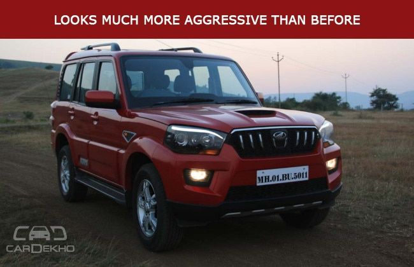 Mahindra Scorpio Road Test Images