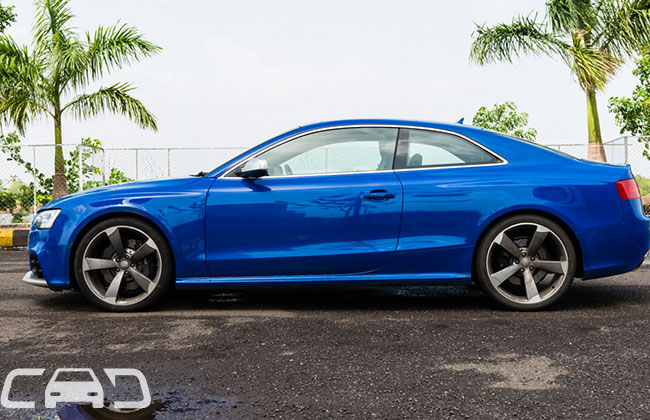 Audi RS5 Road Test Images