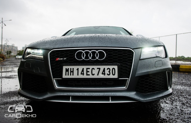 Audi RS7 2015-2019 Road Test Images