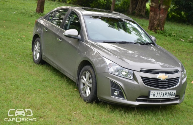 Chevrolet Cruze Road Test Images