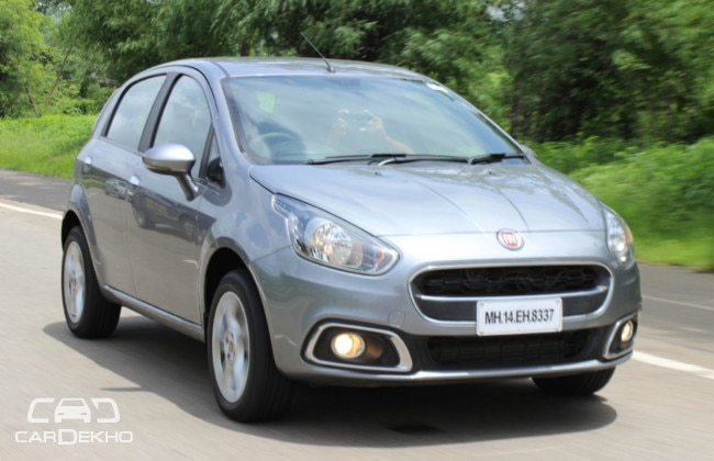 Fiat Punto EVO Road Test Images