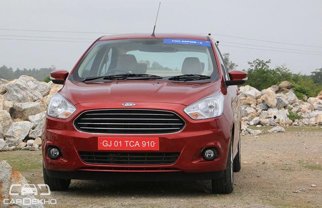 Pre-facelift Ford Aspire