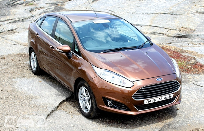 Ford Fiesta Road Test Images