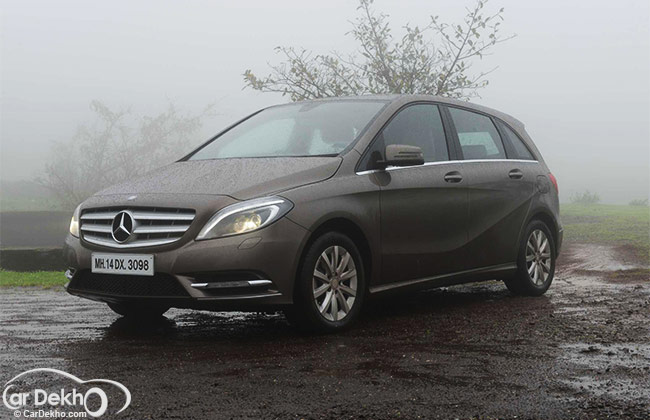 Mercedes-Benz B Class Road Test Images