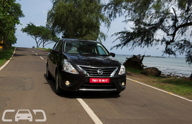 Nissan Sunny Road Test Images