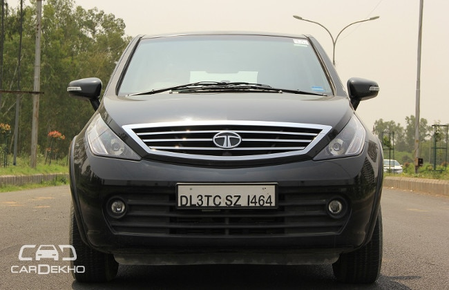 Tata Aria Road Test Images