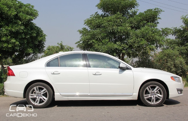 Volvo S 80 Road Test Images