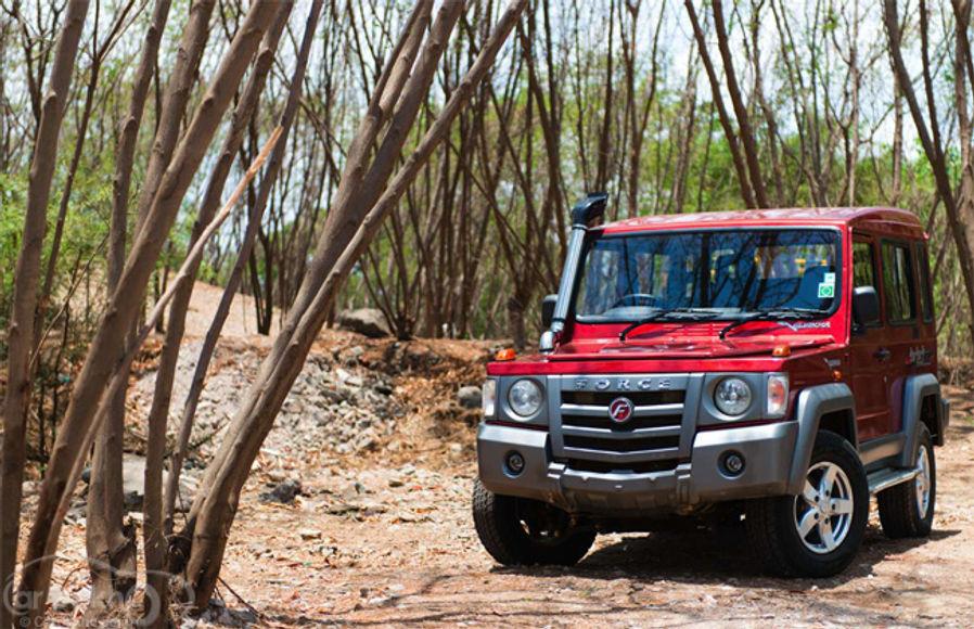 Force Gurkha Road Test Images