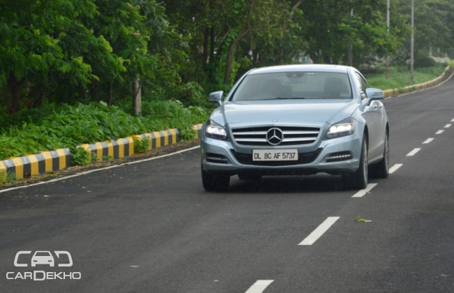 Mercedes-Benz CLS-Class Road Test Images