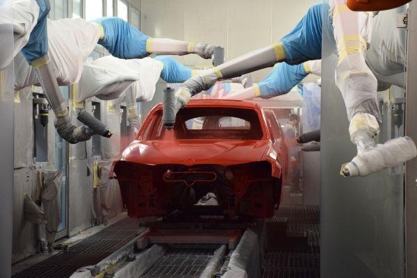 Spartanburg Plant Integrated Paint Process