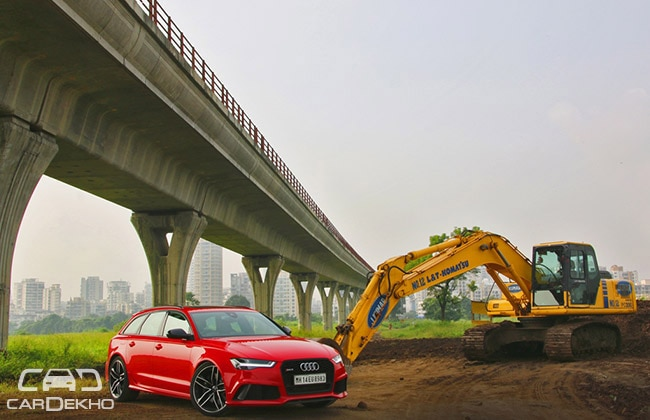 Audi RS6 Road Test Images