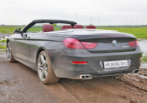 BMW 6 Series Road Test Images