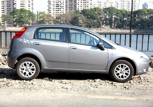 Fiat Grande Punto Road Test Images