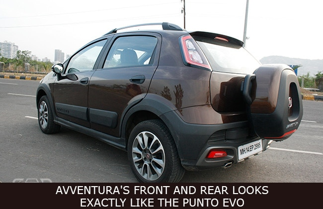 Fiat Avventura Road Test Images