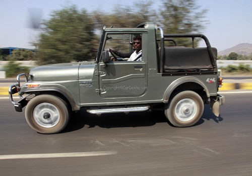 Mahindra Thar 2015-2019 Road Test Images
