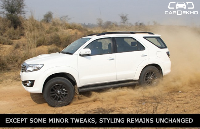 Toyota Fortuner 3 0 4WD Automatic: Expert Review | CarDekho com