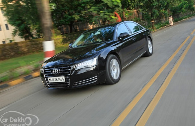Audi A8 Road Test Images