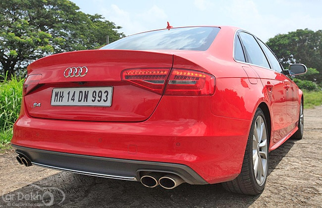 Audi S4 Road Test Images