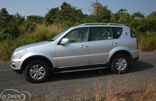 Mahindra Ssangyong Rexton Road Test Images