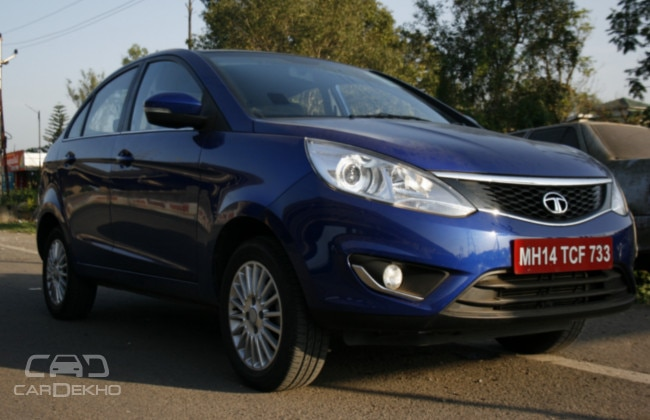 Tata Zest Road Test Images