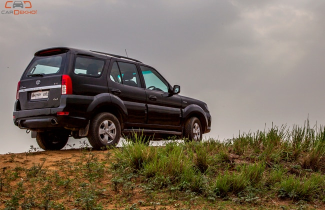 Tata Safari Storme Road Test Images