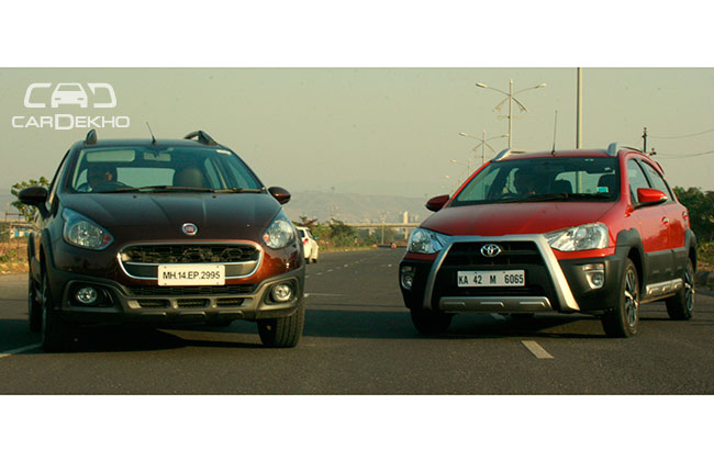 Toyota Etios Cross & Fiat Avventura