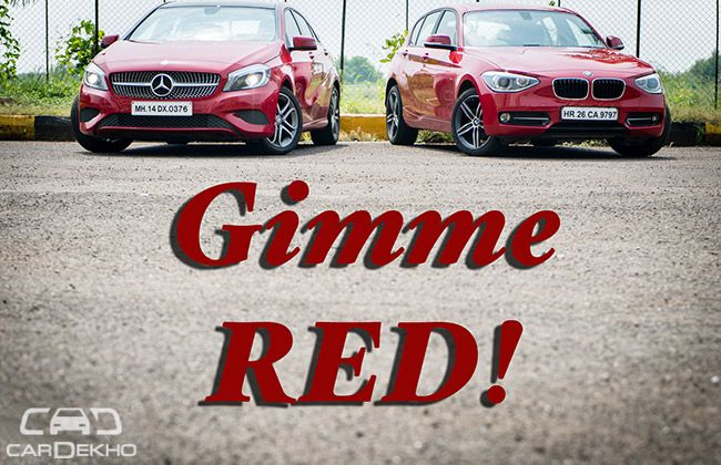 Bmw 1 Series Vs Mercedes Benz A Class Comparison Cardekho Com
