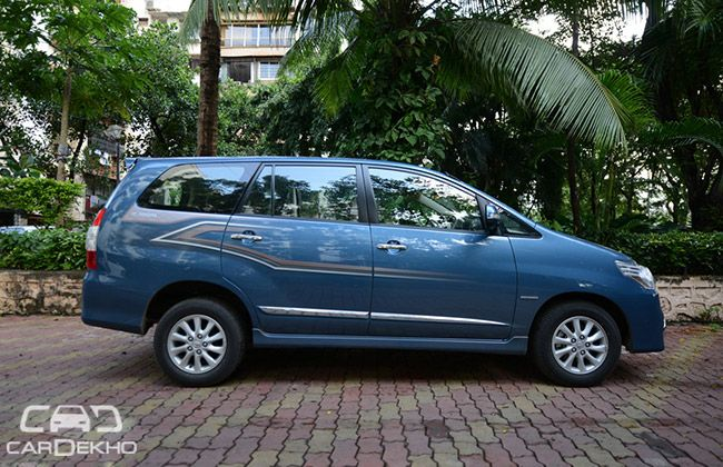 Toyota Innova Road Test Images