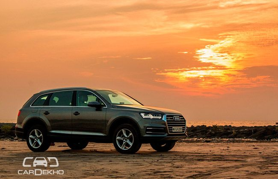 Audi Q7 Road Test Images