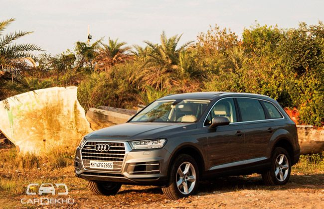 Audi Q7 Road Test Images