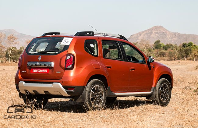 Renault Duster 2016-2019 Road Test Images