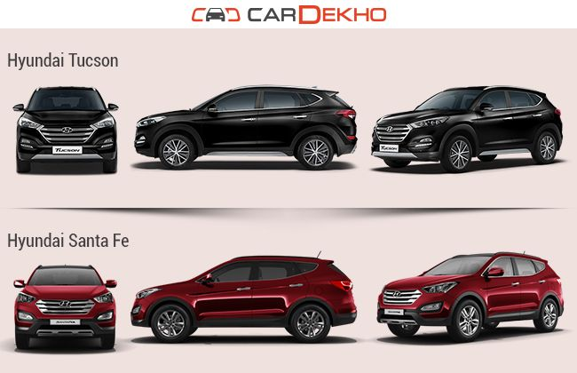 Hyundai santa fe vs tuscon